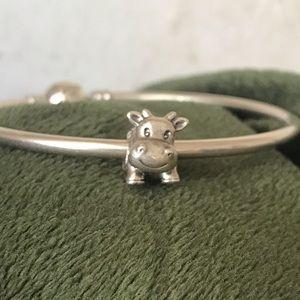 Pandora Retired Silver Cow Charm 🐮